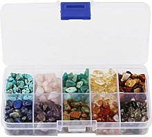 Natural Chip Stone Beads for Jewelry Making DIY
