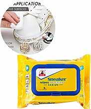 Natural Cleaning Wipes for All Leather Shoes Dirt,