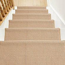 Natural Fiber Staircase Step Treads, Premium Sisal