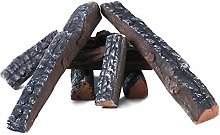 Natural Glo Large Gas Fireplace Logs Set of