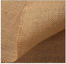 Natural Hessian Fabric Burlap Vintage Natural Jute