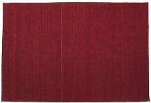 Natural Nomad Rug by Nanimarquina Red