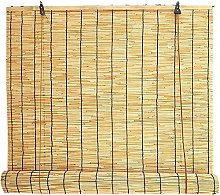 Natural Reed Curtain, Bamboo Curtains with Lifter,