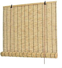 Natural Reed Curtain,Vintage Bamboo Roller Blind