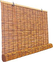 Natural Reed Curtain,Vintage Bamboo Roller Blind -