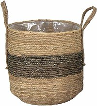 Natural Willow Egg Shape Flexible Storage Shopping