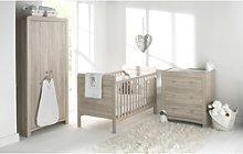 Natural Wood 3 Piece Nursery Furniture Set - East