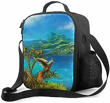Nature Art Upgrade Lunch Tote Box, Lightning Storm