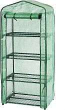 Nature Greenhouse with 4 Shelves 69 x 49 x 160 cm
