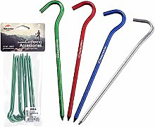 Naturehike 8 pcs/Lot 7001 Aluminium Alloy Tent Peg