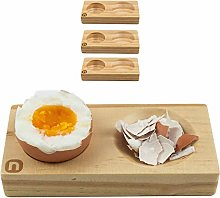 Naturlik egg cups (set of 4) made of high-quality