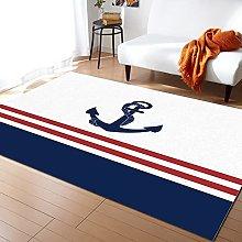 Nautical Carpet for Home Living Room Bedroom