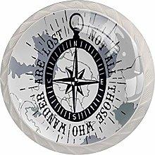 Nautical Compass Cabinet Door Knobs Handles Pulls