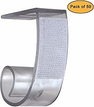 NAVADEAL Table Skirting Clips Tablecloth Clips for