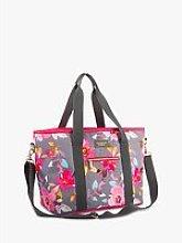Navigate Gardenia Floral Picnic Tote Cooler Bag,