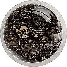 Navigation Black Pattern, Modern Minimalist