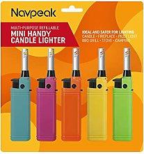 Navpeak 5 PACK Mini Candle Lighter Handy