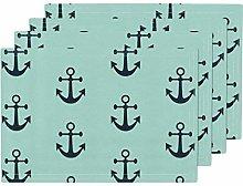 Navy Baby Boy Navy Mint Nautical Preppy Anchors