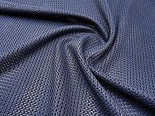 Navy Blue Heavy Duty Mesh Fabric by The Metre
