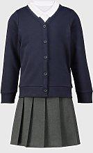 Navy Cardigan, Polo & Skirt Schoolwear Bundle - 4