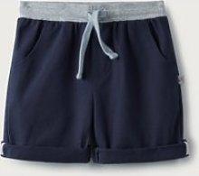 Navy Shorts, Blue, 0-3M