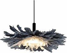 NAWS Feather Pendant Light 16W, Modern Romantic