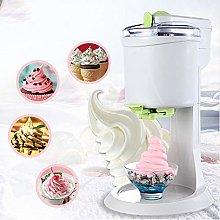 NBCDY 2 pcs Ice Cream Maker, Fully Automatic Mini