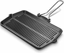NBCDY Grill Pan Griddle with handles, Hard
