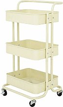 NBNBN Trolley Mobile Shelving 3-layer Tool Car