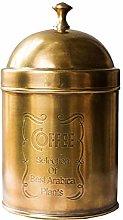 NBRTT Black Coffee Container Airtight, Antique