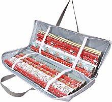 NC Christmas Wrapping Paper Storage Bag, Gift Wrap