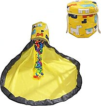 NC Toy Storage Bag Storage Basket Large Game Mat