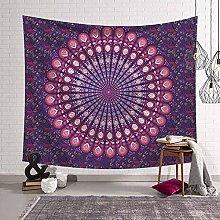 NC153 Indian Mandala Tapestry Wall Hanging Sandy
