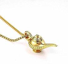 NC188 Necklace Magic lamp Necklace Titanium Steel