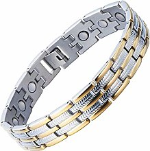 NC188 Stainless Steel Man Bracelet Energy Link