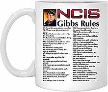 NCIS Gibbs Rules 69 Rules Coffee Ceramic Mug