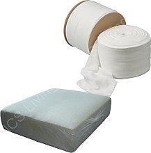 NCS Upholstery White Stockinette Tubular Cushion
