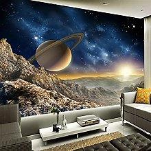 Nebula Universe 3D Photo Mural Wallpaper Living