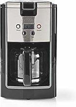 NEDIS KACM120EBK Coffee Maker | 12 Cup Capacity |