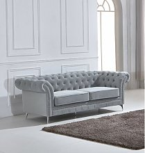 Neely 3 Seater Chesterfield Sofa Rosdorf Park