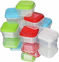 NEEZ Baby Food Containers Freezer Cube Trays Pots,