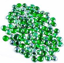 NEEZ Glass Pebbles for Decoration in Aquarium,