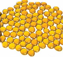 NEEZ Glass Pebbles for Decoration Purpose in