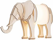 Nellie - Elephant Table Lamp