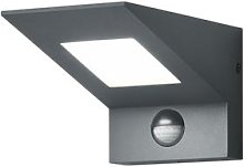 Nelson LED outdoor wall light with a sensor