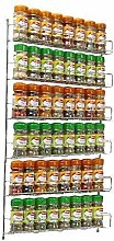 Neo® 36pc Chrome 6 Tier Spice Rack Jar Holder for