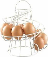 Neo Direct - Neo White Kitchen Spiral Egg Holder -