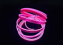 Neon Light El Wire with USB Neon Glowing Strobing