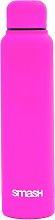 Neon Pink Soft Touch Stainless Steel Bottle - 300ml