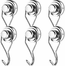 Neosmuk Swivel Swing Hooks,60LBS Rotatable Swing